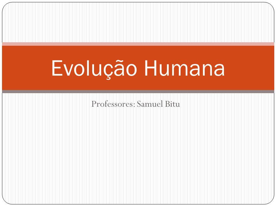 Professores: Samuel Bitu