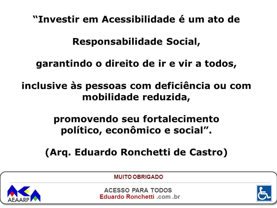 Investir em Acessibilidade é um ato de Responsabilidade Social,