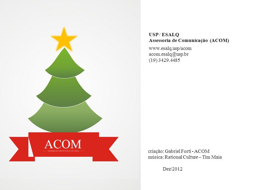 USP / ESALQ Assessoria de Comunicação (ACOM)