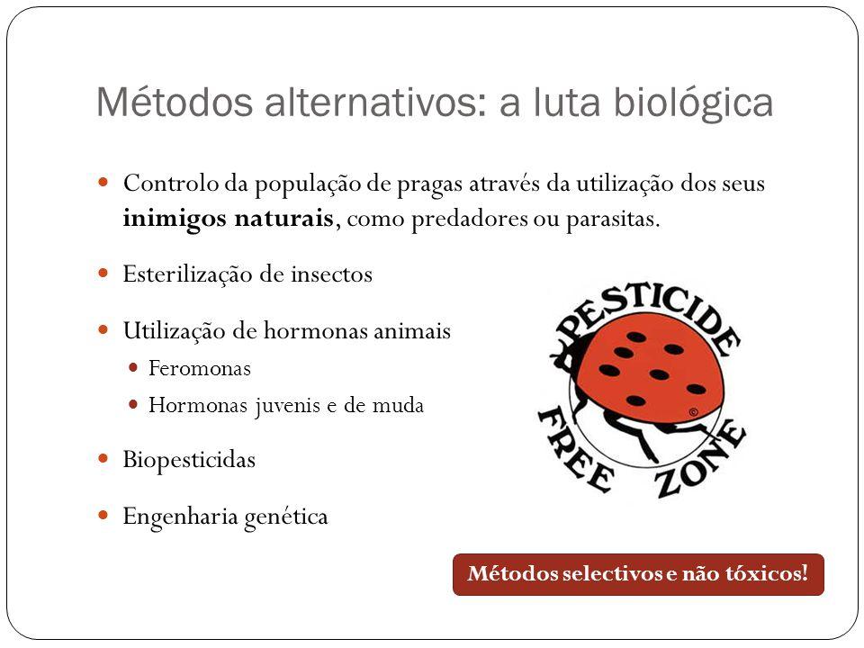 Métodos alternativos: a luta biológica
