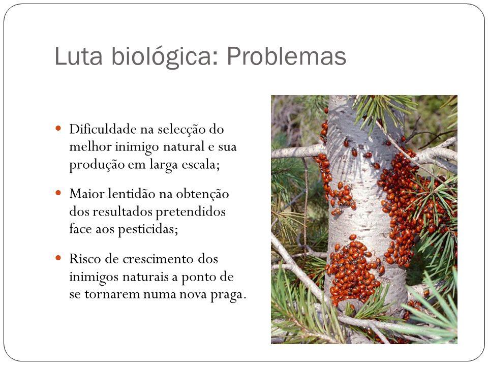 Luta biológica: Problemas