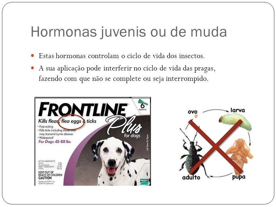 Hormonas juvenis ou de muda