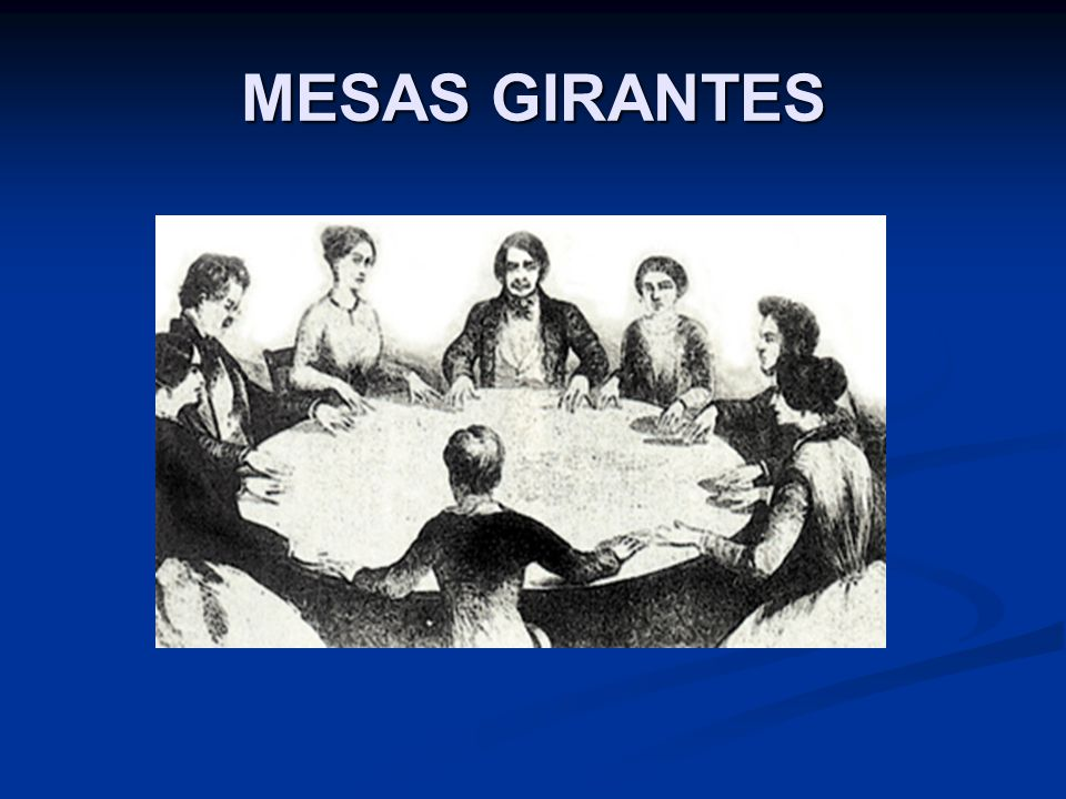MESAS GIRANTES