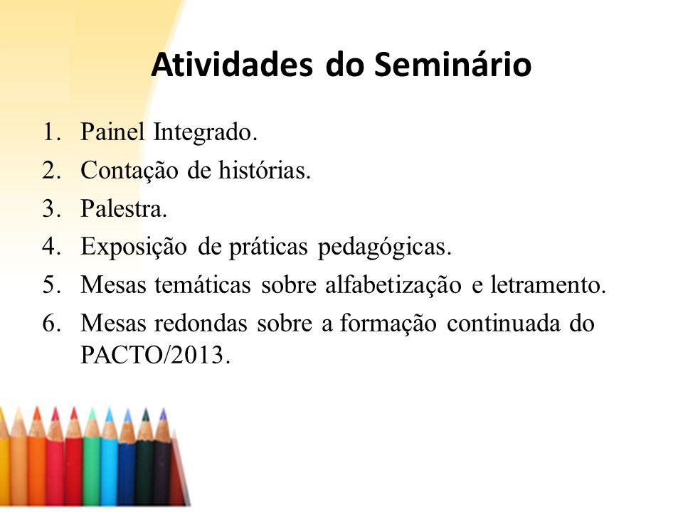 Atividades do Seminário