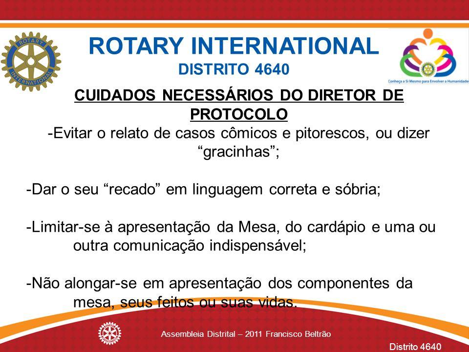 ROTARY INTERNATIONAL DISTRITO 4640