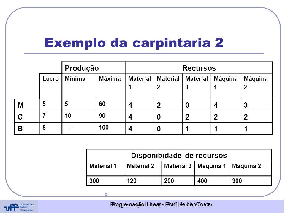 Exemplo da carpintaria 2
