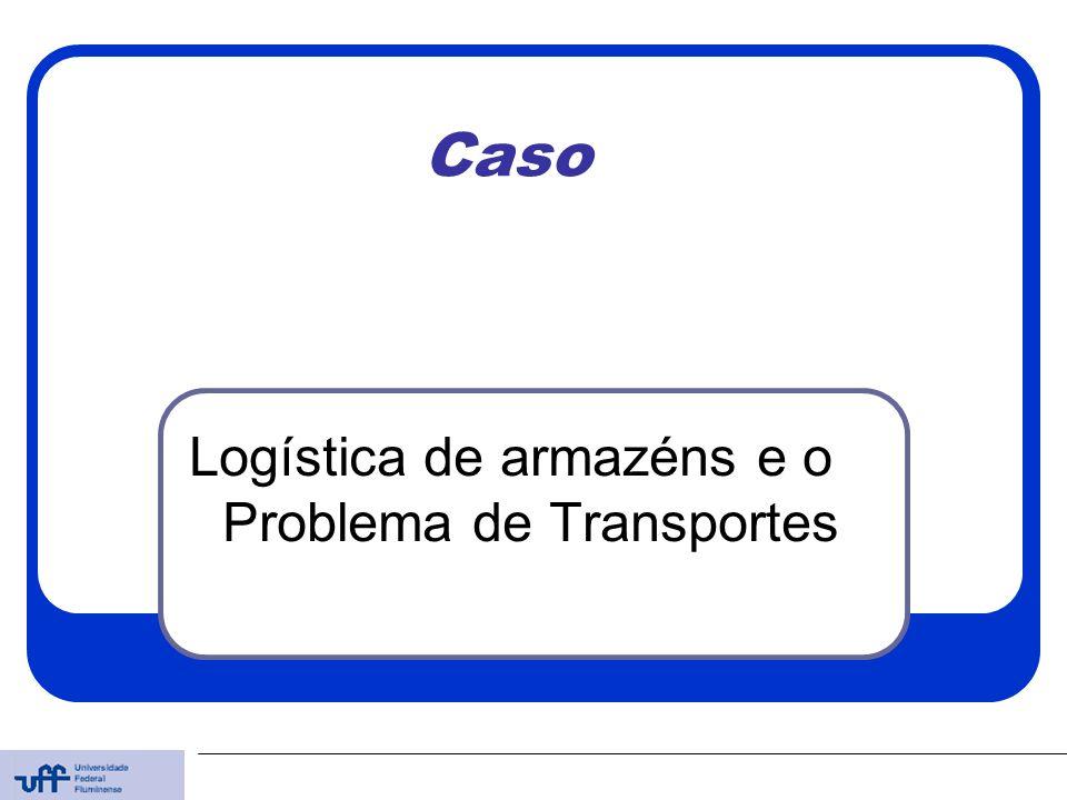 Logística de armazéns e o Problema de Transportes