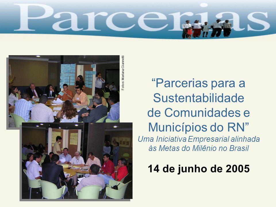 Parcerias para a Sustentabilidade de Comunidades e Municípios do RN