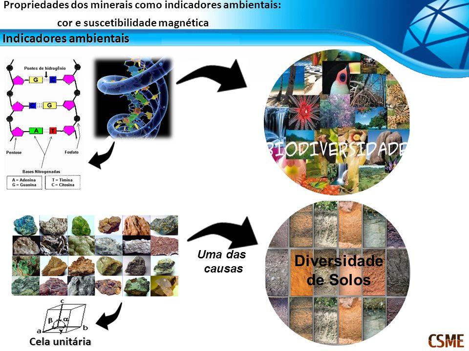 Diversidade de Solos Indicadores ambientais