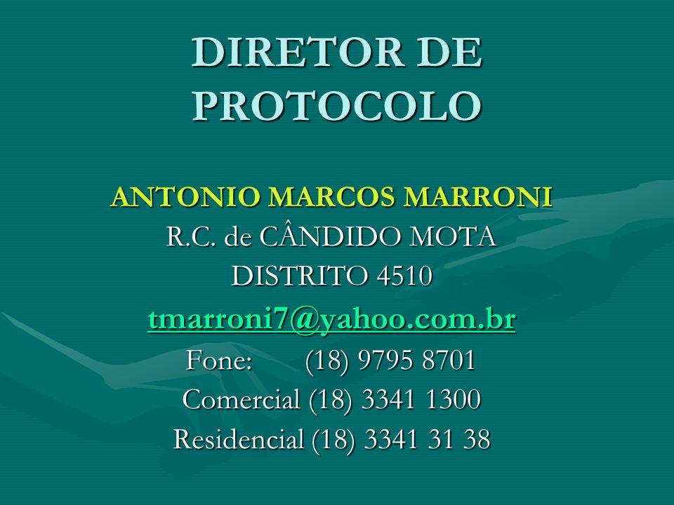 ANTONIO MARCOS MARRONI
