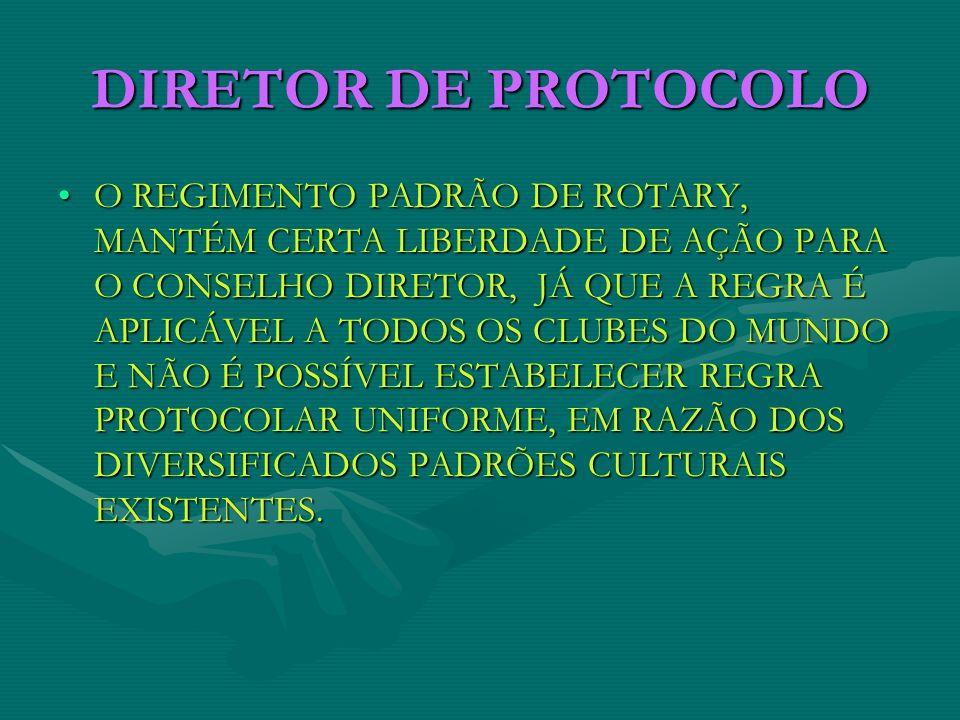 DIRETOR DE PROTOCOLO