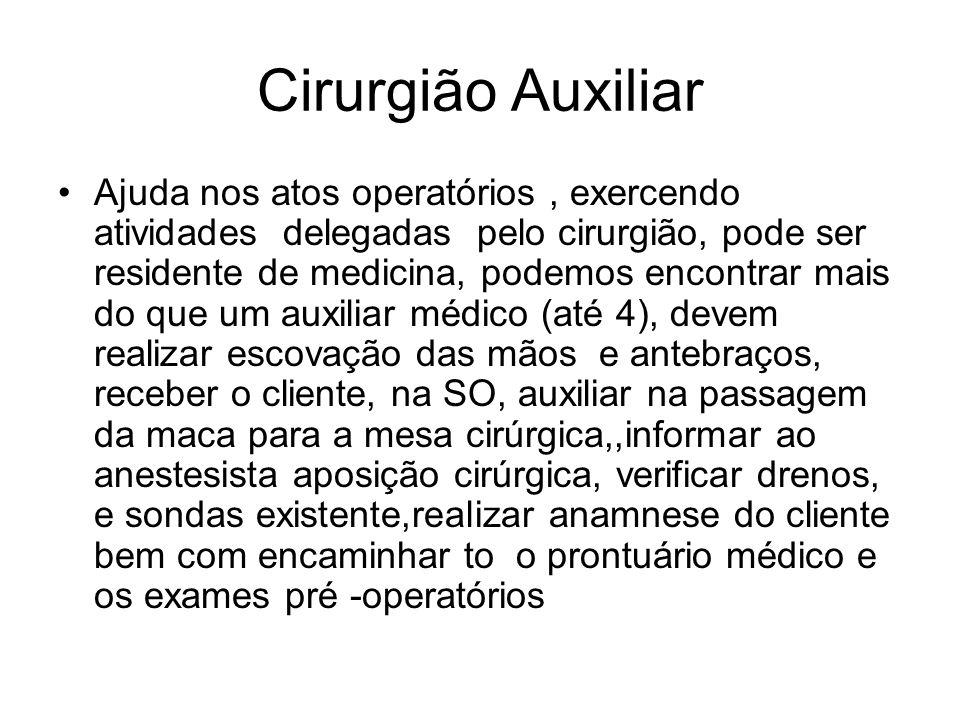 Cirurgião Auxiliar