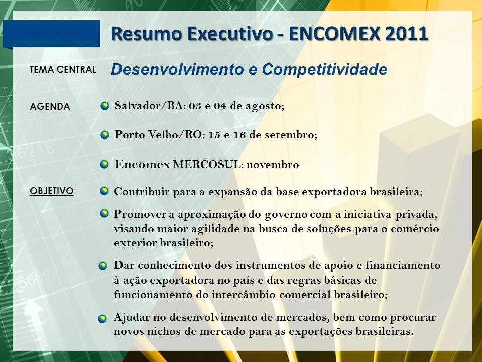 Resumo Executivo - ENCOMEX 2011