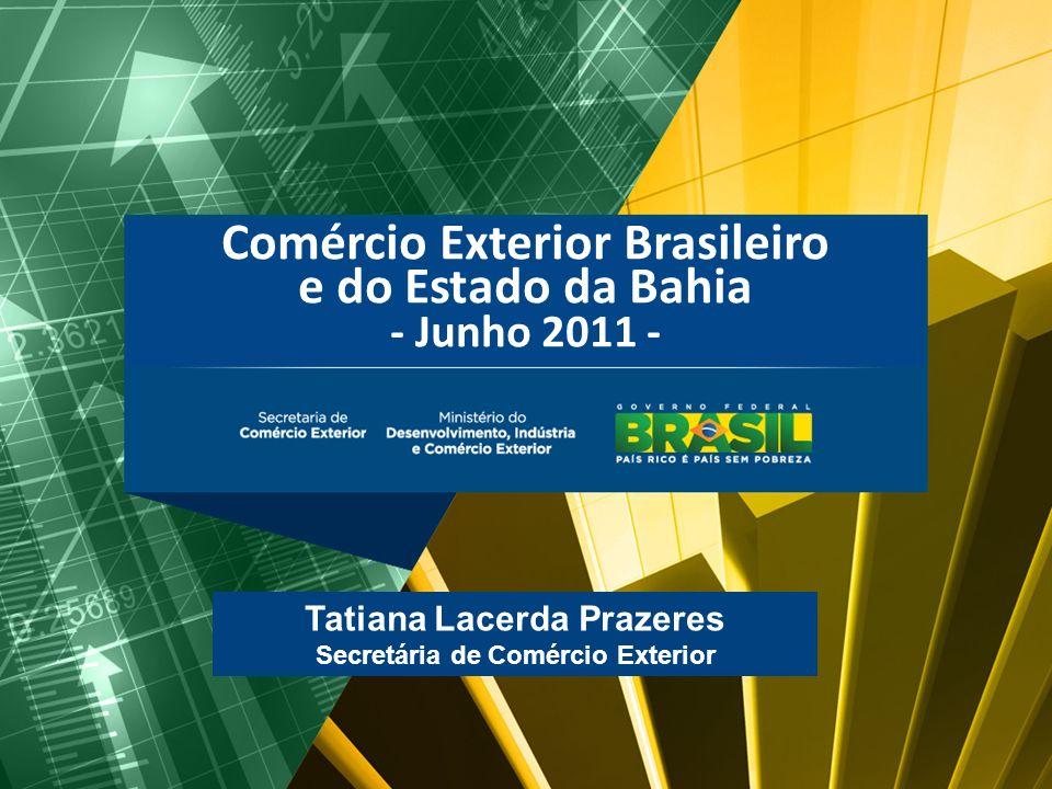 Comércio Exterior Brasileiro e do Estado da Bahia