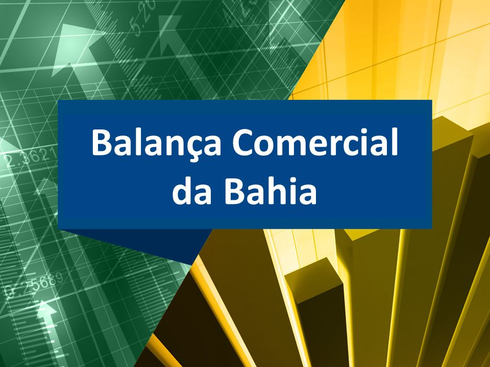 Balança Comercial da Bahia