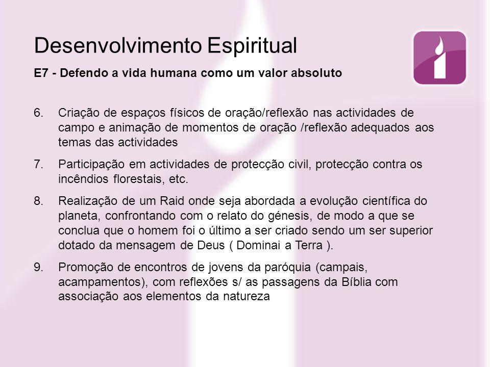 Desenvolvimento Espiritual