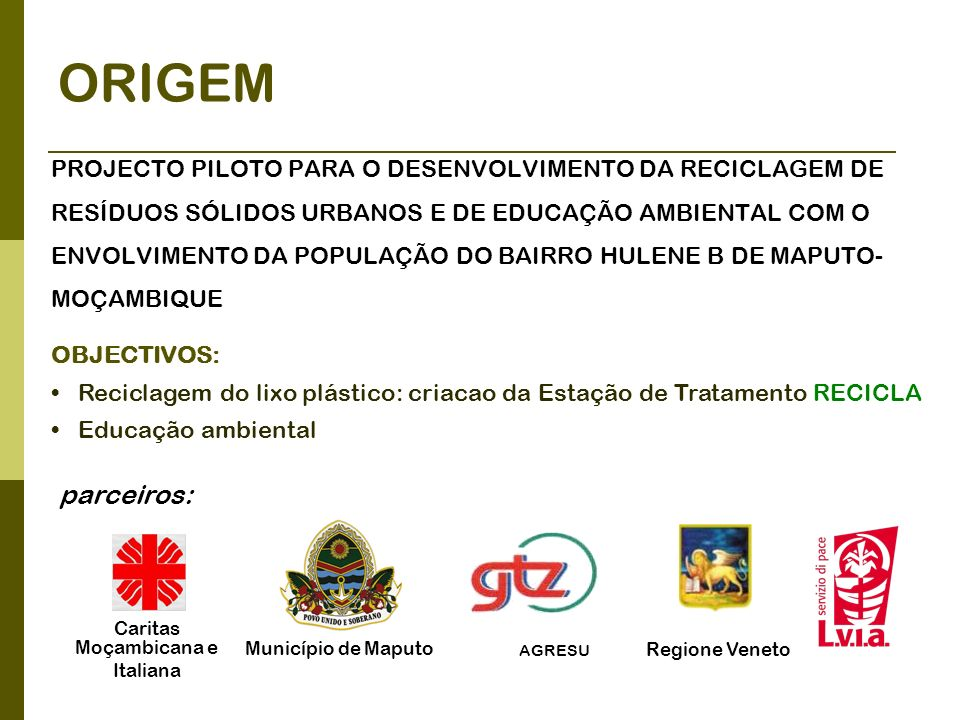 Caritas Moçambicana e Italiana