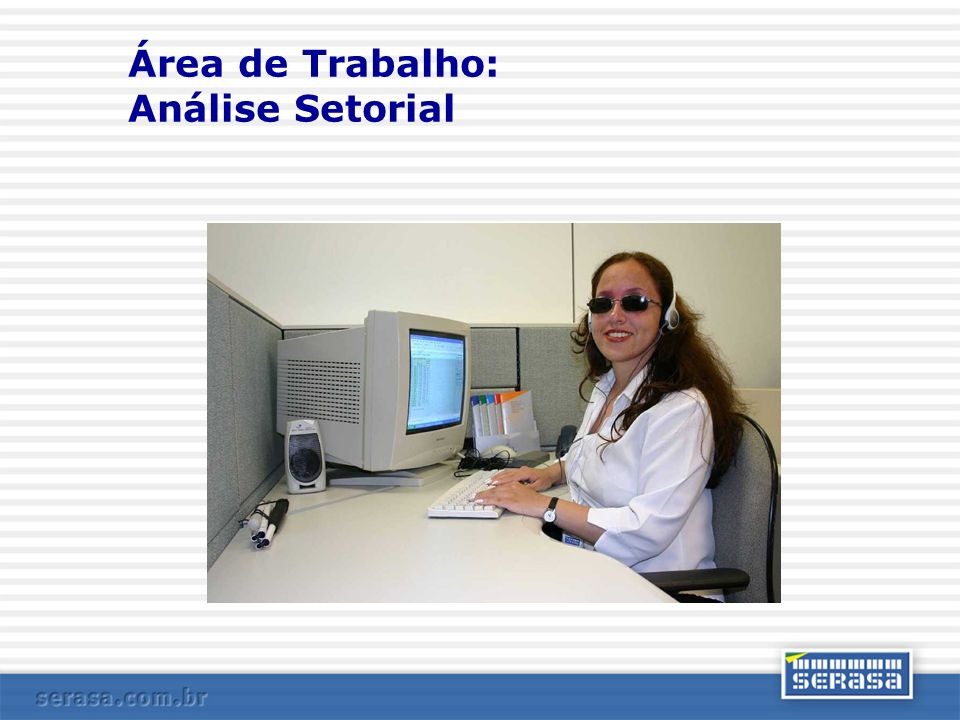 Área de Trabalho: Análise Setorial