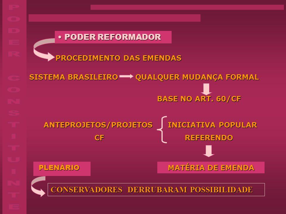 PODER CONSTITUINTE PODER REFORMADOR