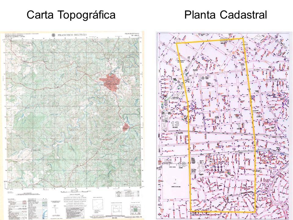 Carta Topográfica Planta Cadastral