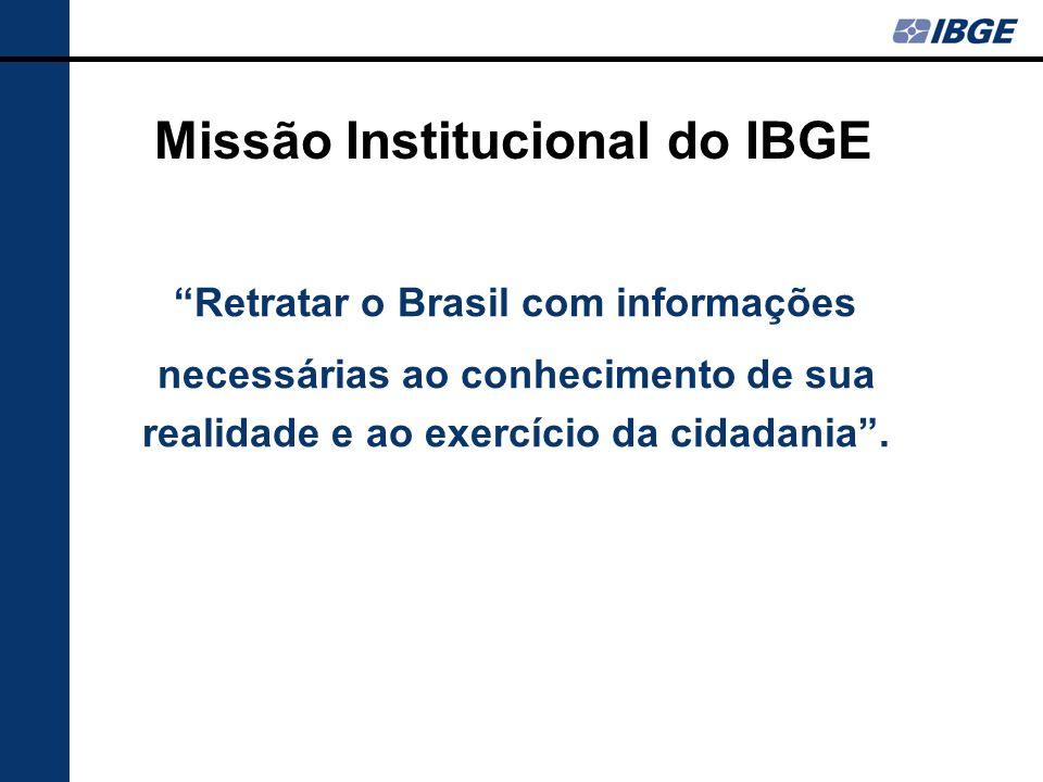 Missão Institucional do IBGE
