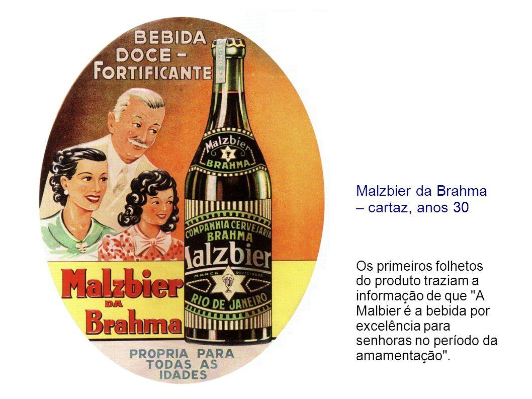 Malzbier da Brahma – cartaz, anos 30