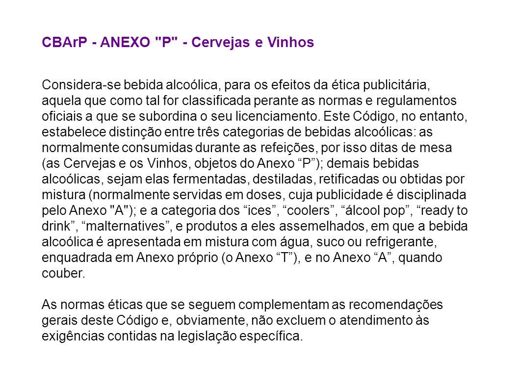 CBArP - ANEXO P - Cervejas e Vinhos