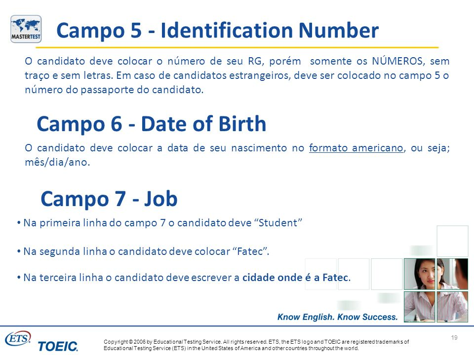 Campo 5 - Identification Number