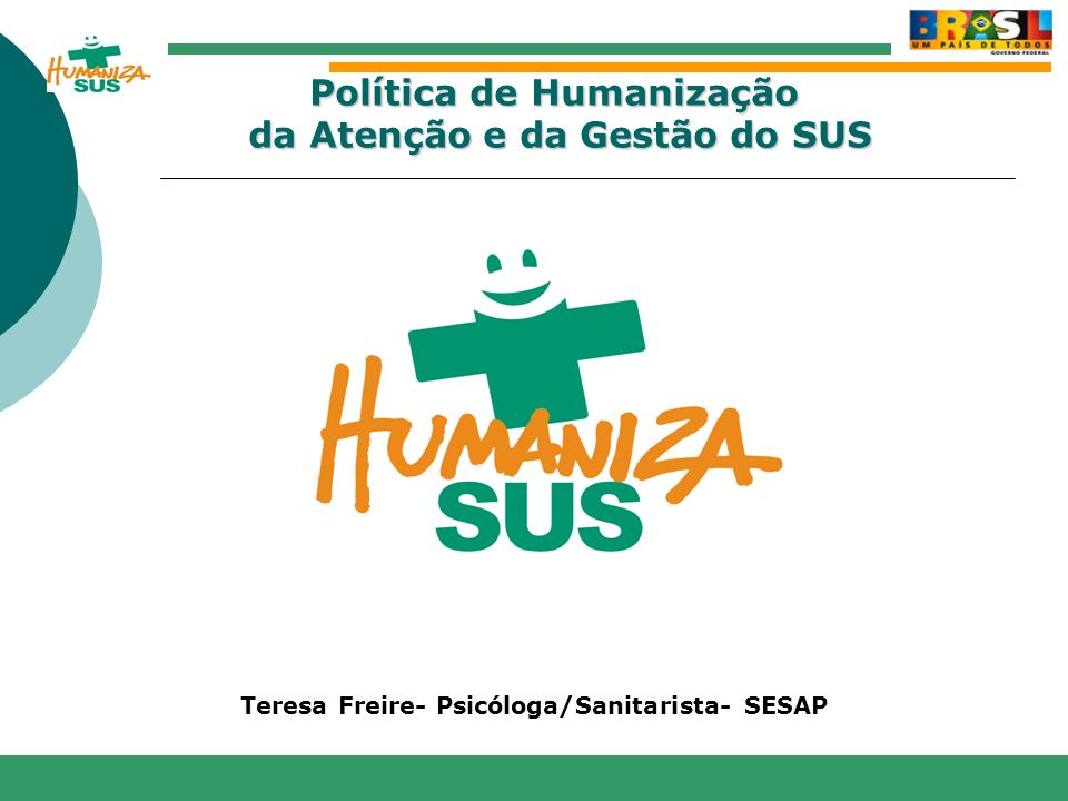 Teresa Freire- Psicóloga/Sanitarista- SESAP