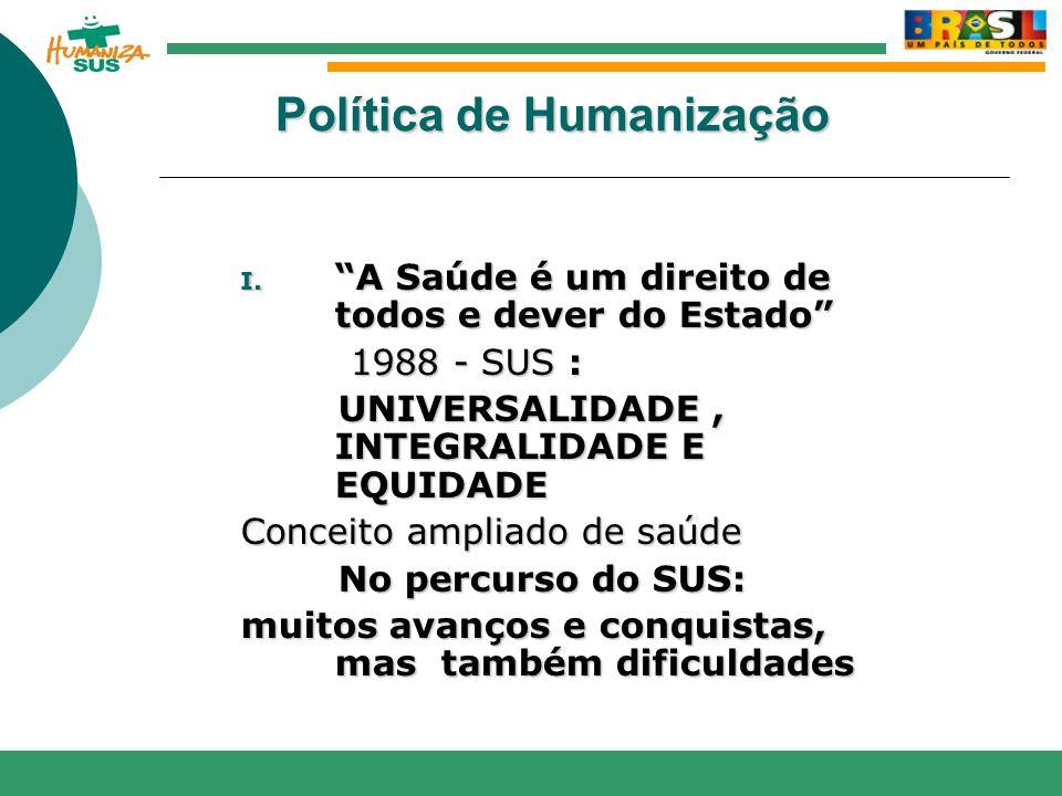 Política de Humanização