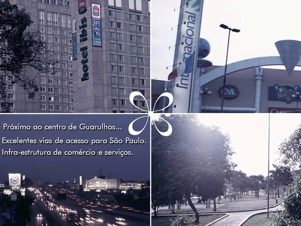 Próximo ao centro de Guarulhos...