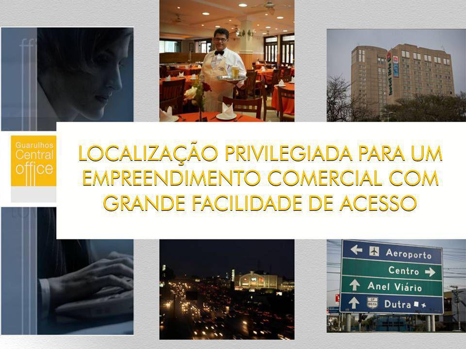 LOCALIZAÇÃO PRIVILEGIADA PARA UM EMPREENDIMENTO COMERCIAL COM GRANDE FACILIDADE DE ACESSO