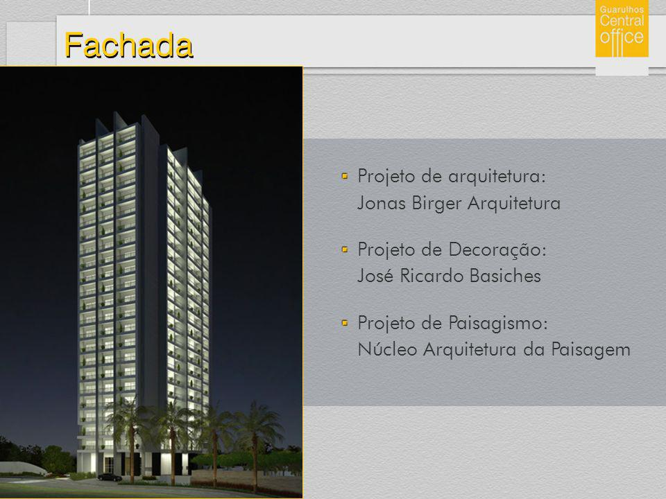 Fachada Projeto de arquitetura: Jonas Birger Arquitetura