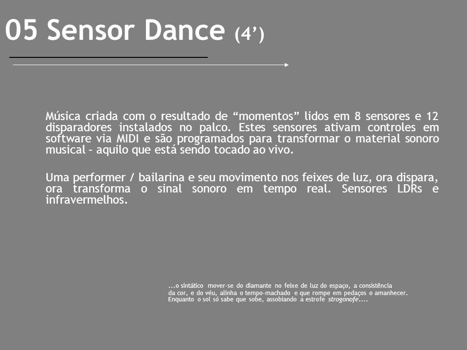 05 Sensor Dance (4')