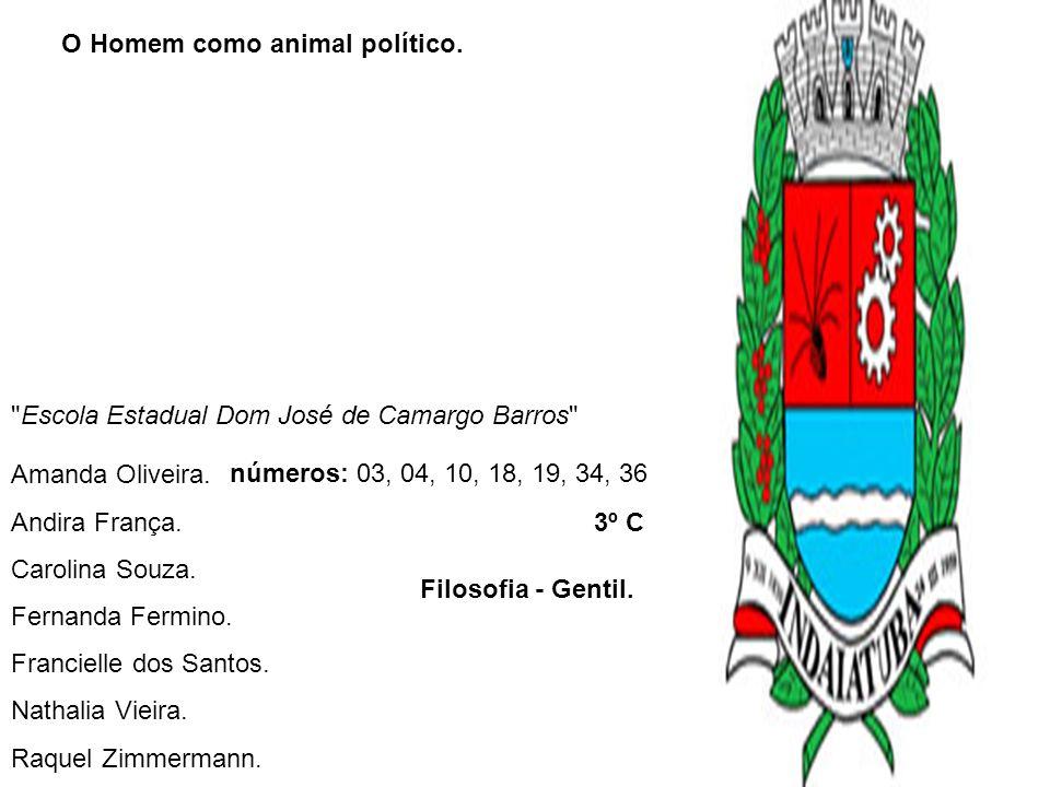 O Homem como animal político.