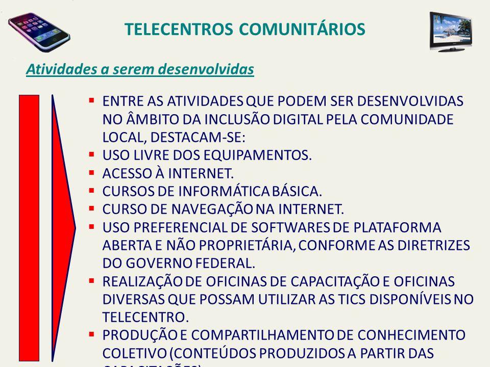 TELECENTROS COMUNITÁRIOS