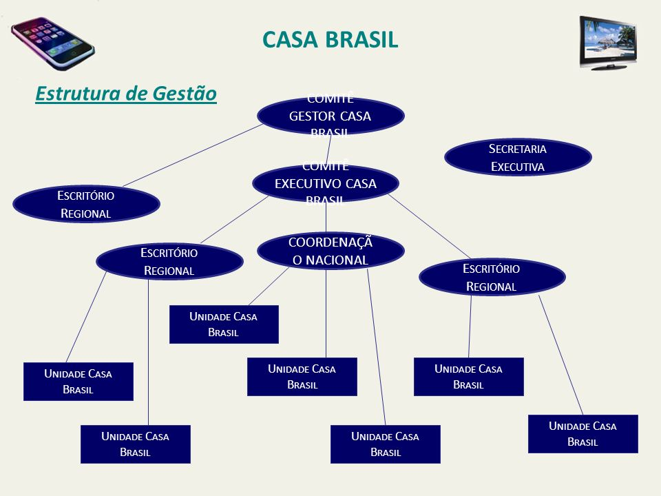CASA BRASIL Estrutura de Gestão COMITÊ GESTOR CASA BRASIL