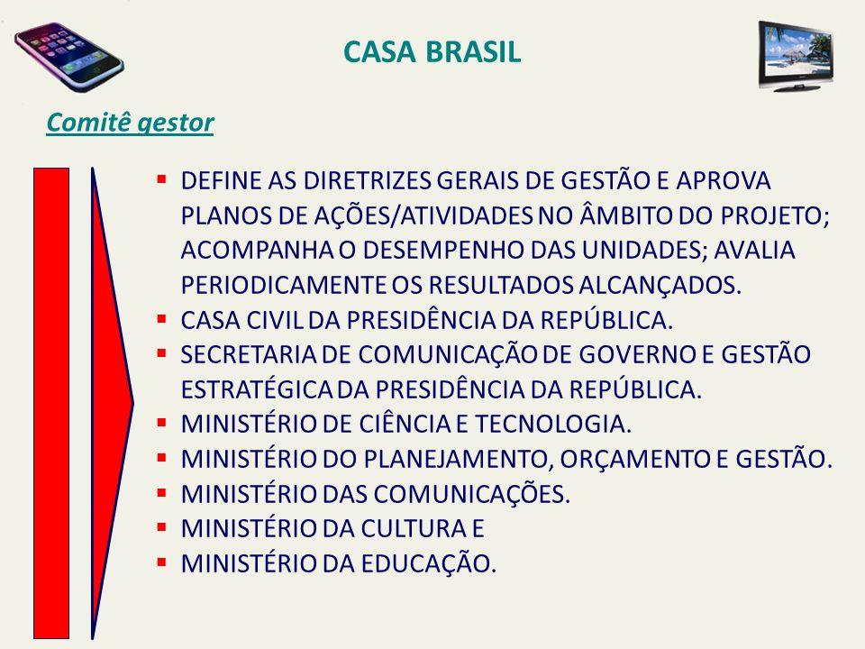 CASA BRASIL Comitê gestor