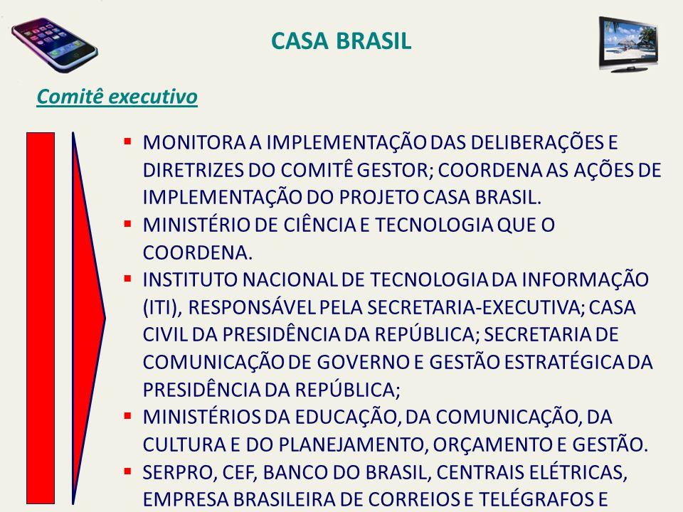 CASA BRASIL Comitê executivo