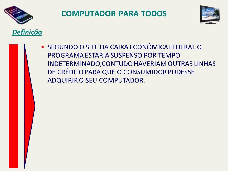 Computador para todos Definição