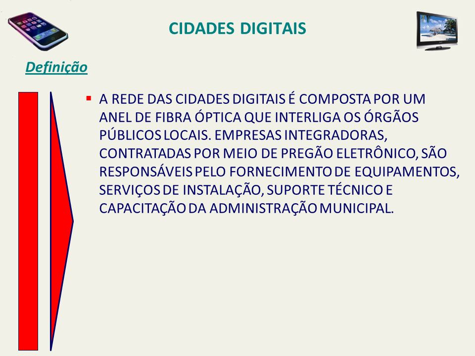 CIDADES DIGITAIS Definição