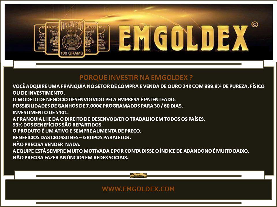 PORQUE INVESTIR NA EMGOLDEX