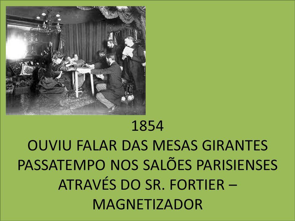 1854 OUVIU FALAR DAS MESAS GIRANTES PASSATEMPO NOS SALÕES PARISIENSES ATRAVÉS DO SR.