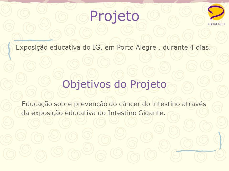 Exposição educativa do IG, em Porto Alegre , durante 4 dias.