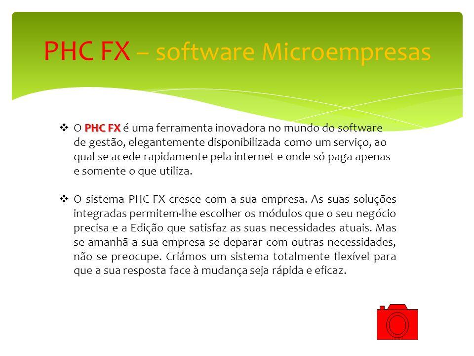 PHC FX – software Microempresas