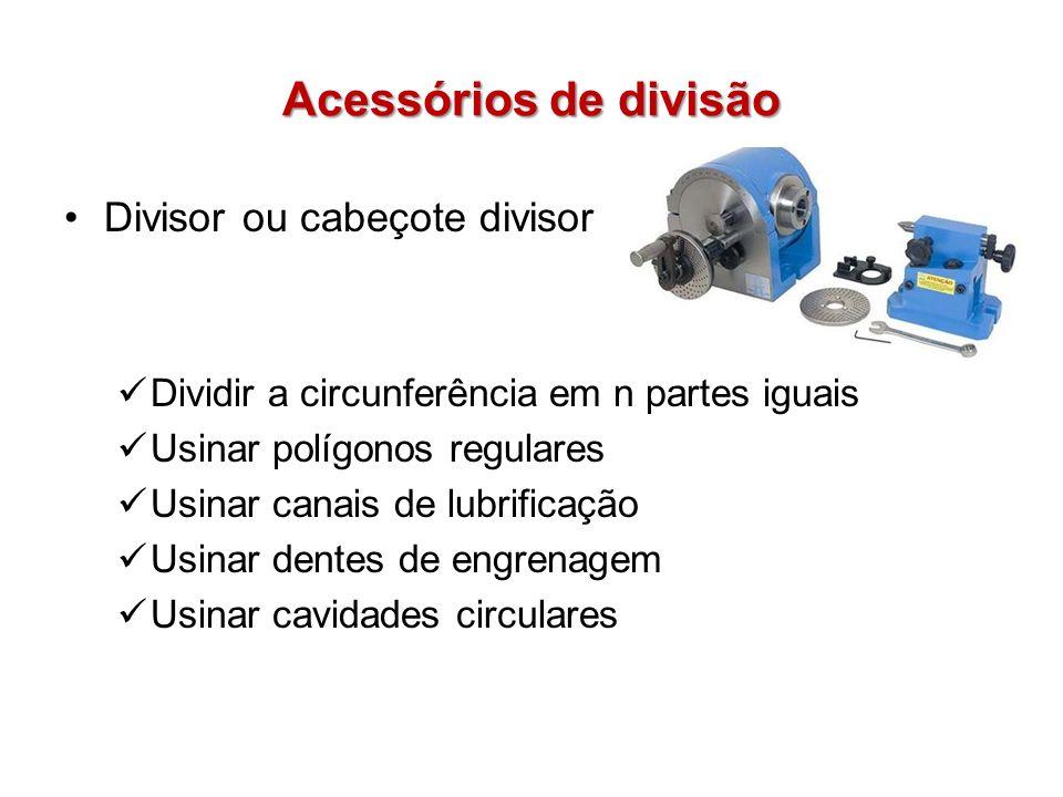 Acessórios de divisão Divisor ou cabeçote divisor