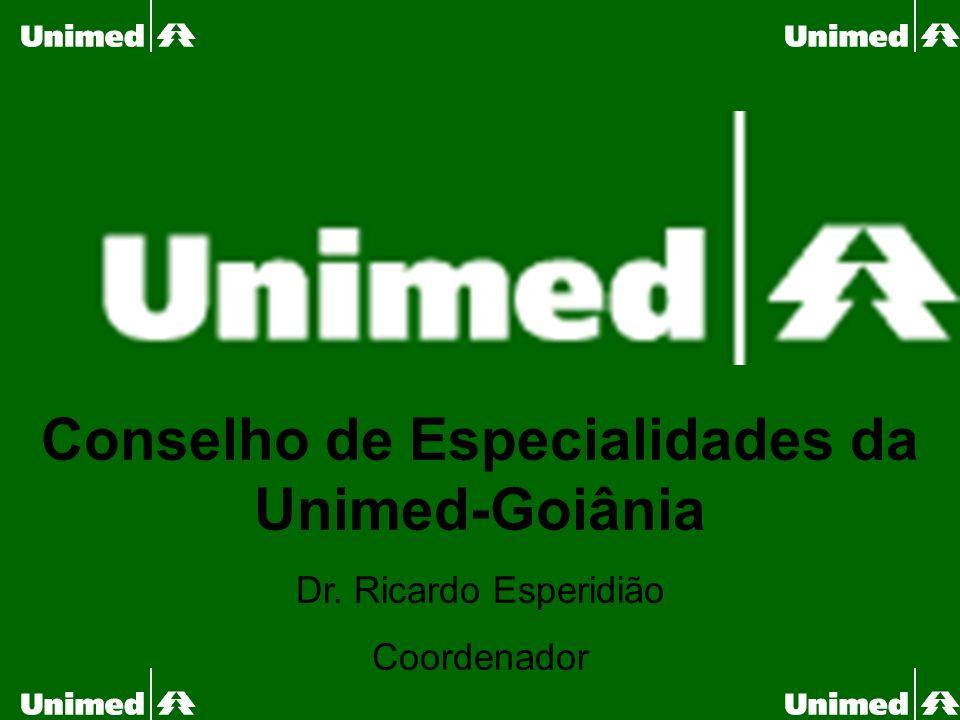 Conselho de Especialidades da Unimed-Goiânia