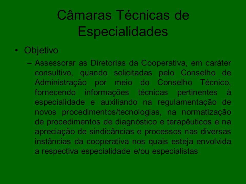 Câmaras Técnicas de Especialidades