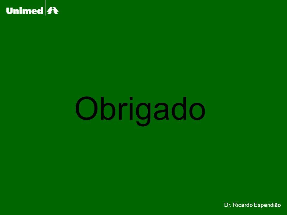 Obrigado Dr. Ricardo Esperidião