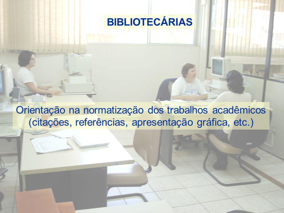 Orientação na normatização dos trabalhos acadêmicos